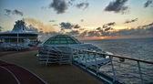 Auf einem kreuzfahrtschiff, florida — Stockfoto