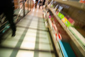 Blurred Colors in the Shop — Foto de Stock