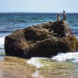 Rock in Aquinnah Beach — Stock Photo #3168386