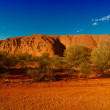 Lights of Ayers Rock, Australia — Stock Photo #3169057