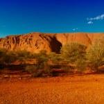 Lights of Ayers Rock, Australia — Stock Photo