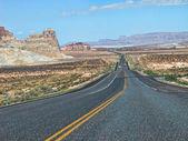 Road near Lake Powell, Arizona — Stock Photo