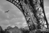 Tour Eiffel, Paris, 2006 — Stock Photo