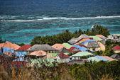 Coast in Saint Maarten Island, Dutch Antilles — Stok fotoğraf