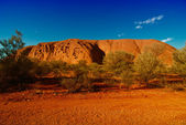 Lights of Ayers Rock, Australia — Stock Photo