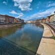 Lungarni, Pisa — Stock Photo