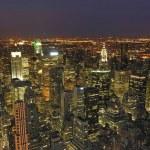Night View of New York City — Stock Photo #3318564