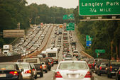Traffic Congestion — Stock Photo