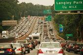 Traffic Congestion — Stock Photo