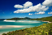 Whitehaven Beach, Australia — Stock Photo