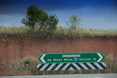 Road Signs in Queensland — Stock Photo