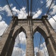 Foto de Stock  : Brooklyn Bridge Architecture