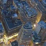Night View of New York City — Stock Photo