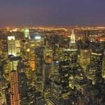 Night View of New York City — Stock Photo #3520534
