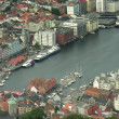 Stock Photo: Architecture of Bergen, Norway