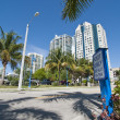 Park in Miami, Florida — Stock Photo