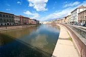 Lungarni, Pisa — Stock Photo