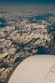 Dolomites from the Aircraft — Stock Photo