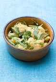 Potato salad with avocado and arugula — Stock Photo