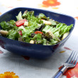 Summer salad with asparagus and tomatoes — Stock Photo #3152533