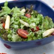 Summer salad with asparagus and tomatoes — Stock Photo #3152542