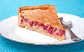Red currant pie — Stock Photo