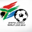 World cup South Africa — Stockvectorbeeld