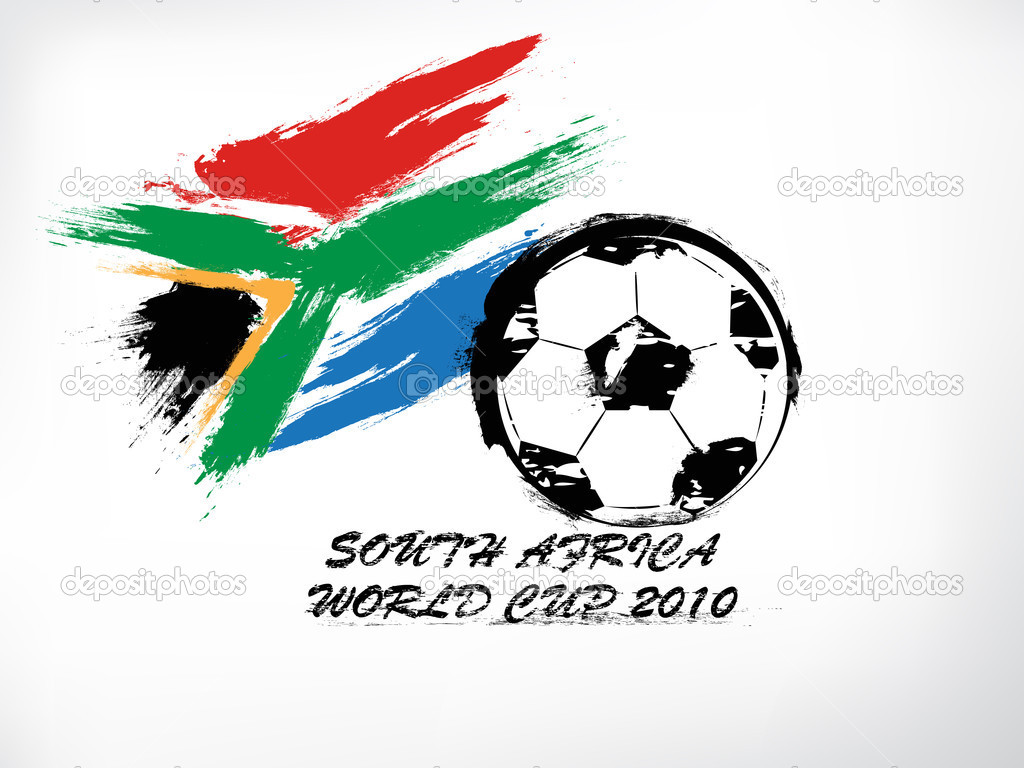 2010 world cup South Africa symbol — Stock Vector #3018011
