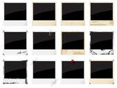 Prázdný běžný fotorámečky — Stock vektor