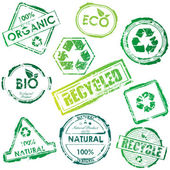 Vector eco stempel — Stockvector