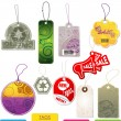 Set of vector tags — 图库矢量图片