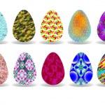 Easter eggs design — Stock Vector