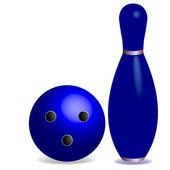 Bowling concept — Stock Vector