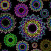 Seamless geometric pattern 2 — Stock Vector