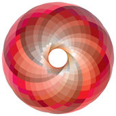 Vortex color palette — Stock Vector
