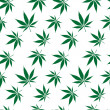 Royalty-Free Stock Vector Image: Cannabis seamless pattern extended