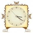 Abstract clock - Stock Vector