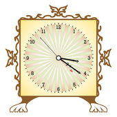 Abstract clock — Stock Vector