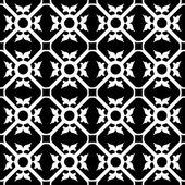Symmetrical flower pattern — Stock Vector
