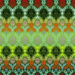 Royalty-Free Stock : Colored seamless flowers pattern
