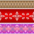 Ornamental design ribbons — Stock Vector #3315555