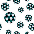 Football seamless pattern — Stock Vector #3478799