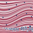 Happy 4th july - Stock Vector