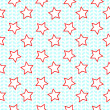 Stock Vector: Stars seamless pattern