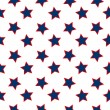 Stock Vector: American stars flag pattern