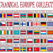 Vettoriale Stock : Mechanical europe collection