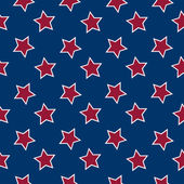 American flag stars background — Vettoriale Stock
