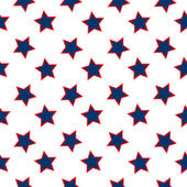 American stars flag pattern — Stock Vector