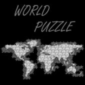World puzzle — Stock Vector