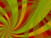 Wavy swirl composition — Stock Vector
